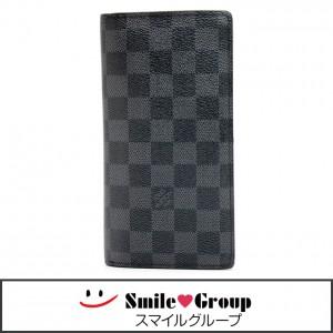 ルイヴィトン ダミエグラフィット ポルトフォイユ・ブラザ N62665