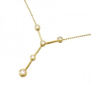 ネックレス ペンダント K18 ダイヤモンド 0.30ct ダイヤ